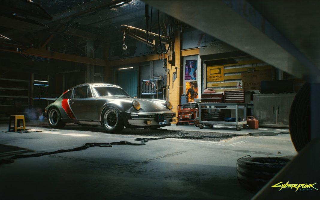 Imagen del Porsche 911 que aparece en Cyberpunk 2077