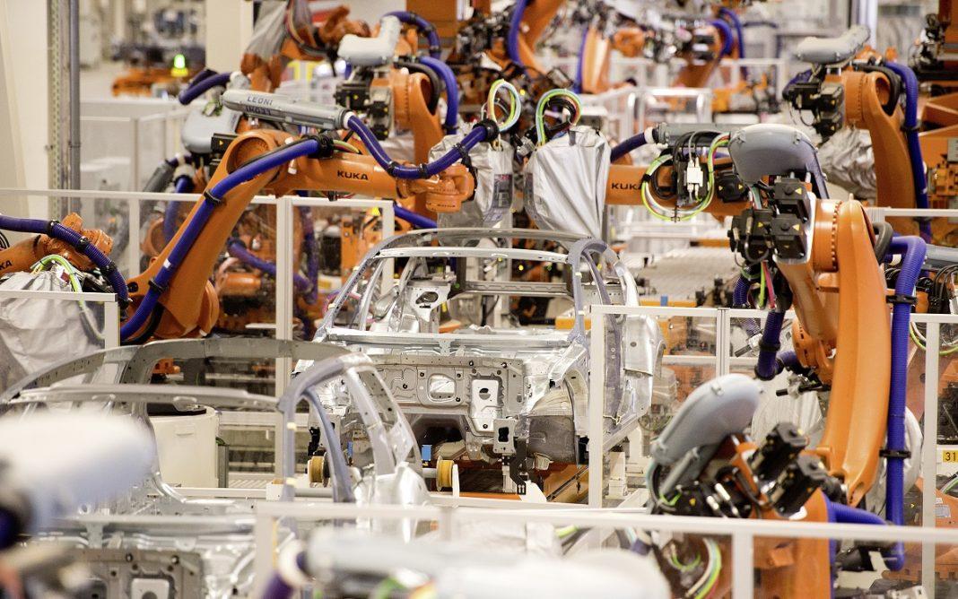 Imagen de la Fábrica de VW en Emden