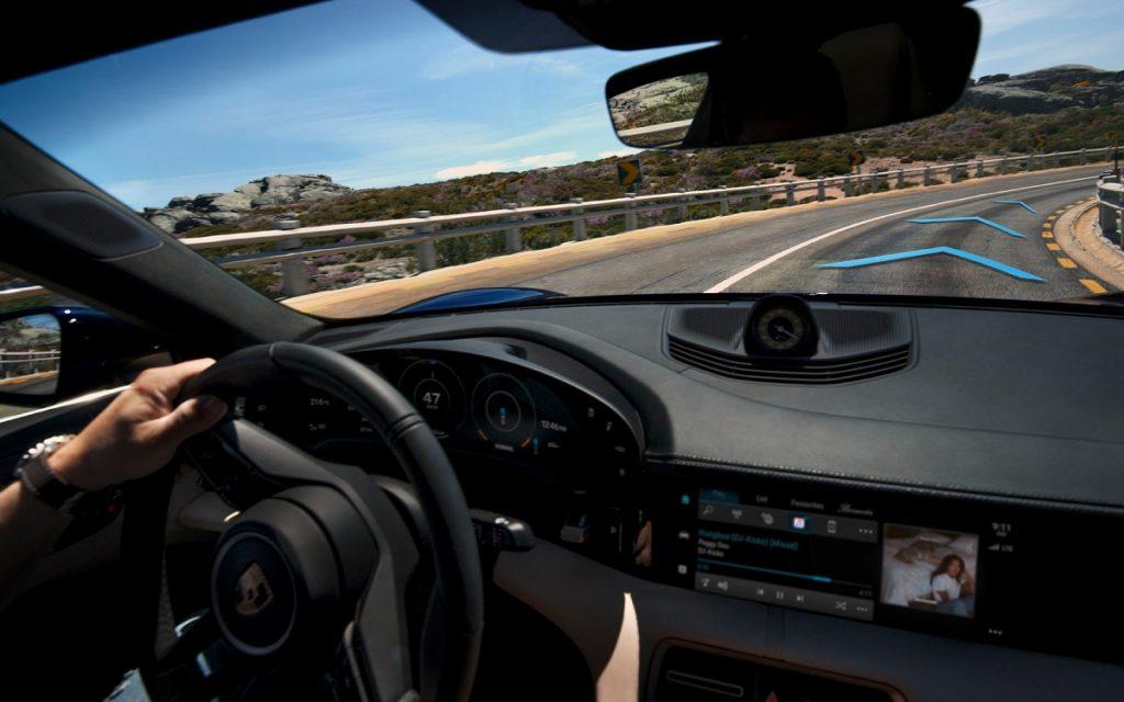 Conducción del Porsche Taycan