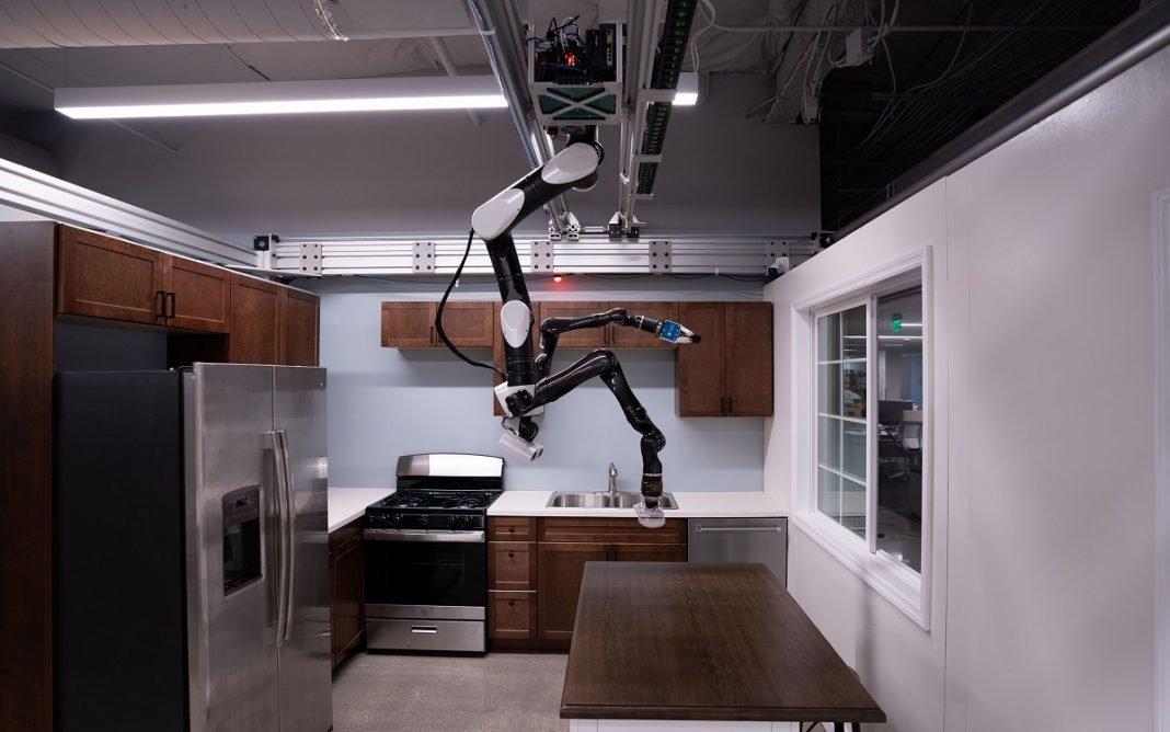 Imagen de un robot doméstico de Toyota