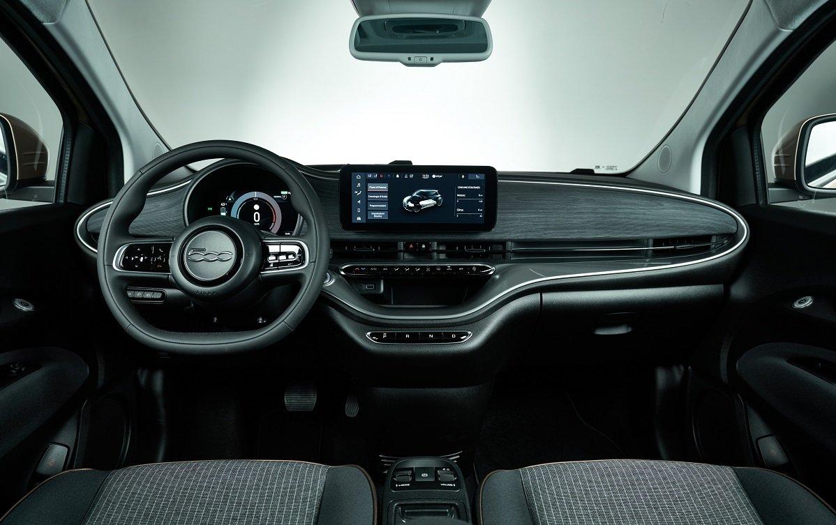 imagen interior del nuevo Fiat 500 3+1