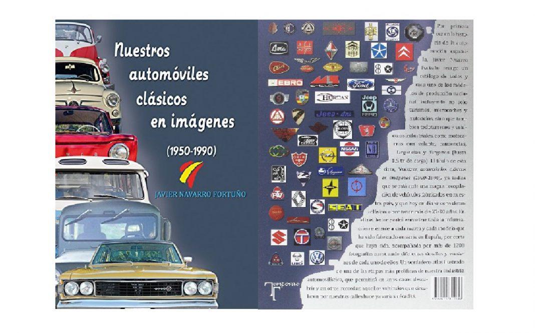 portadas del libro de automóviles clásicos