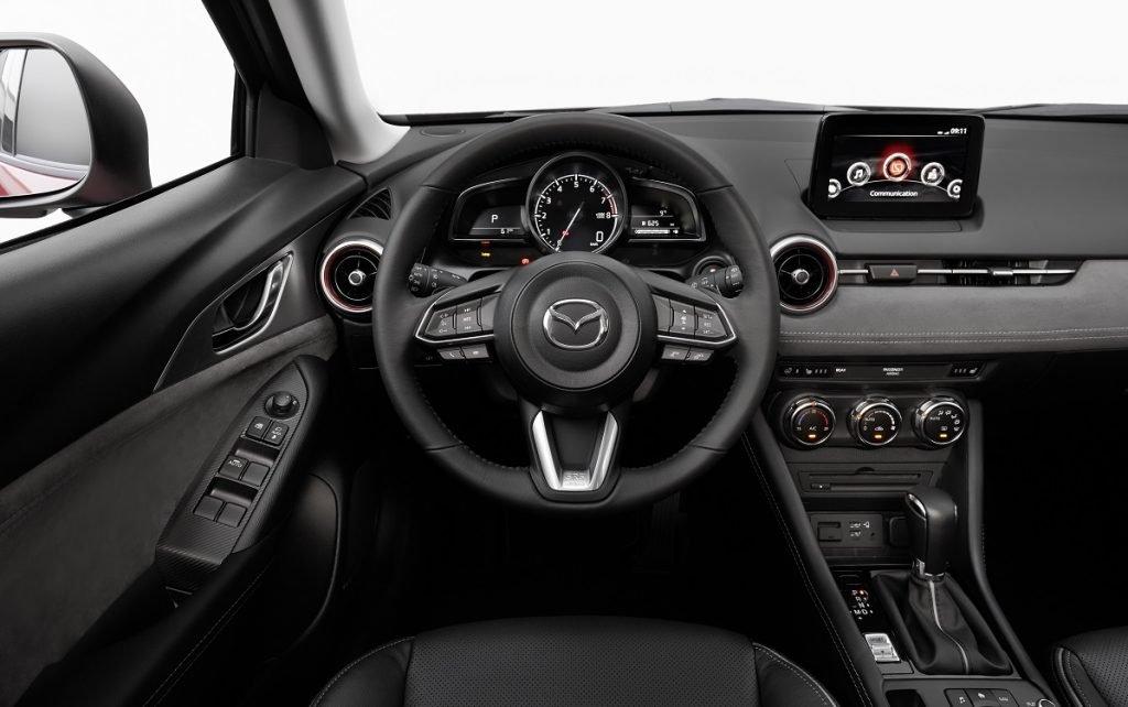 Interior del Mazda CX-3 2021