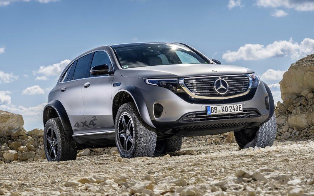 Imagen del Mercedes EQC 4x4