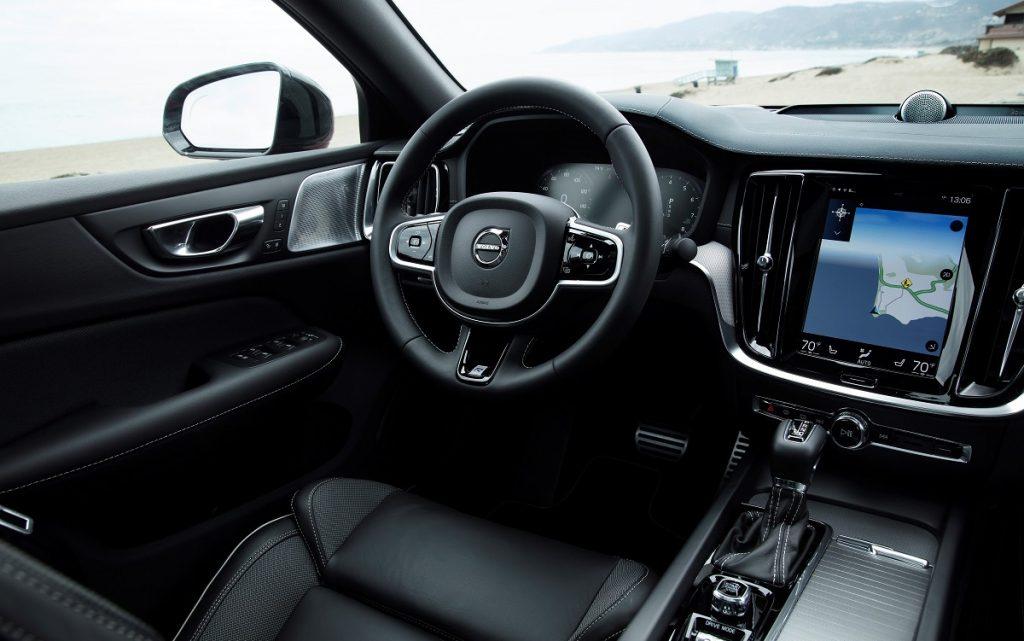 Imagen interior de un Volvo S60