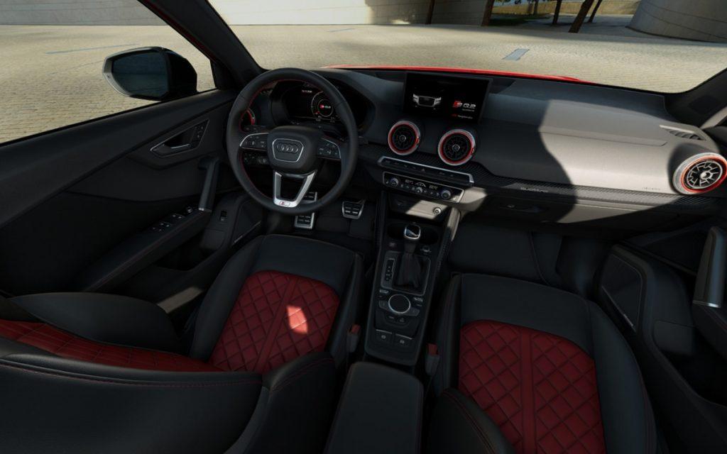 Imagen interior de un Audi SQ2