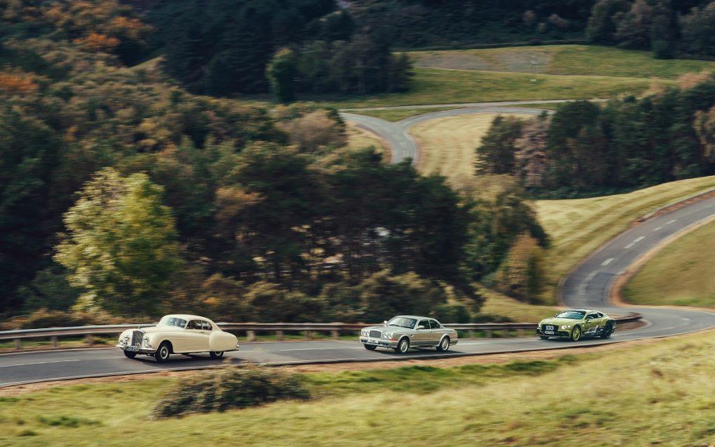 Los Bentley de Toy Box en ruta