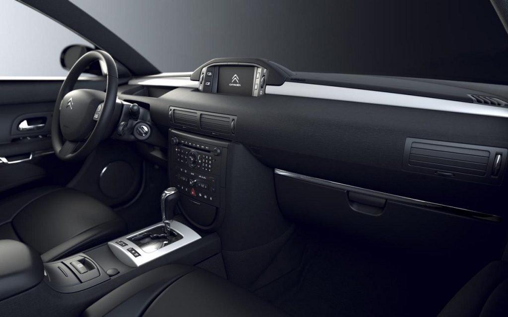 Interior del Citroën C6