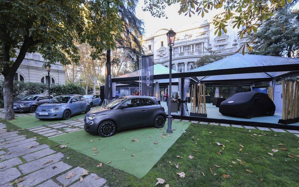 Presentación del Fiat 500 en Madrid