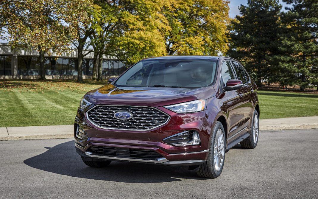 Imagen frontal del Ford Edge