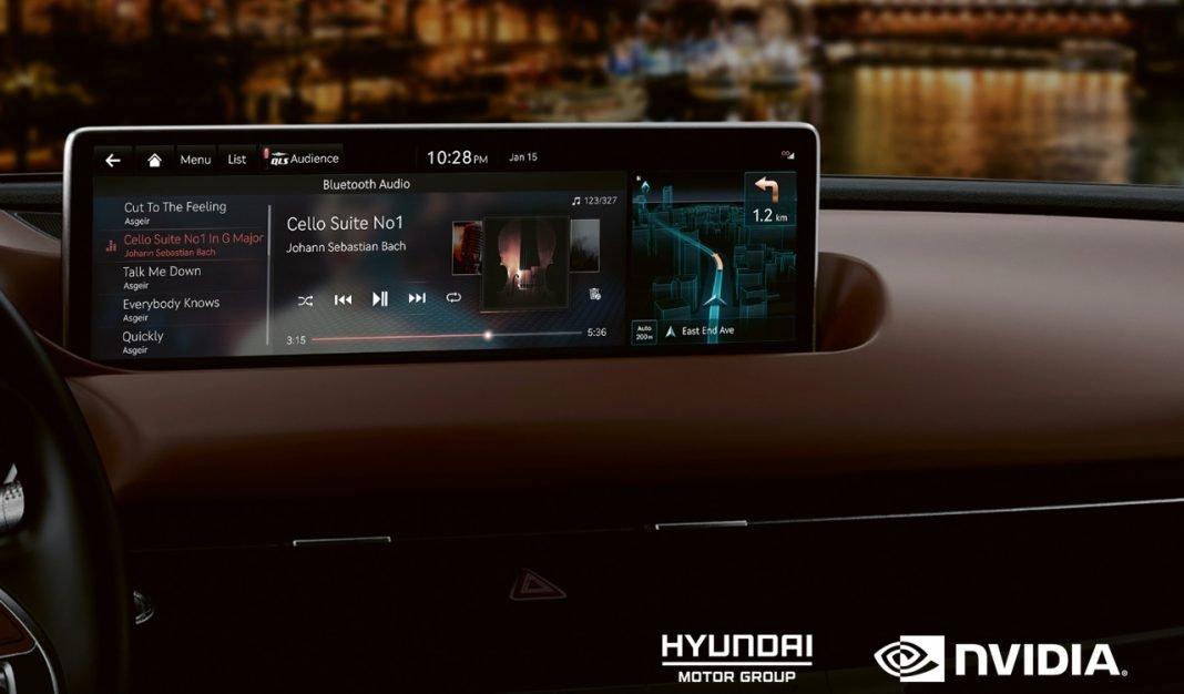 Ejemplo de Hyundai Nvidia Drive
