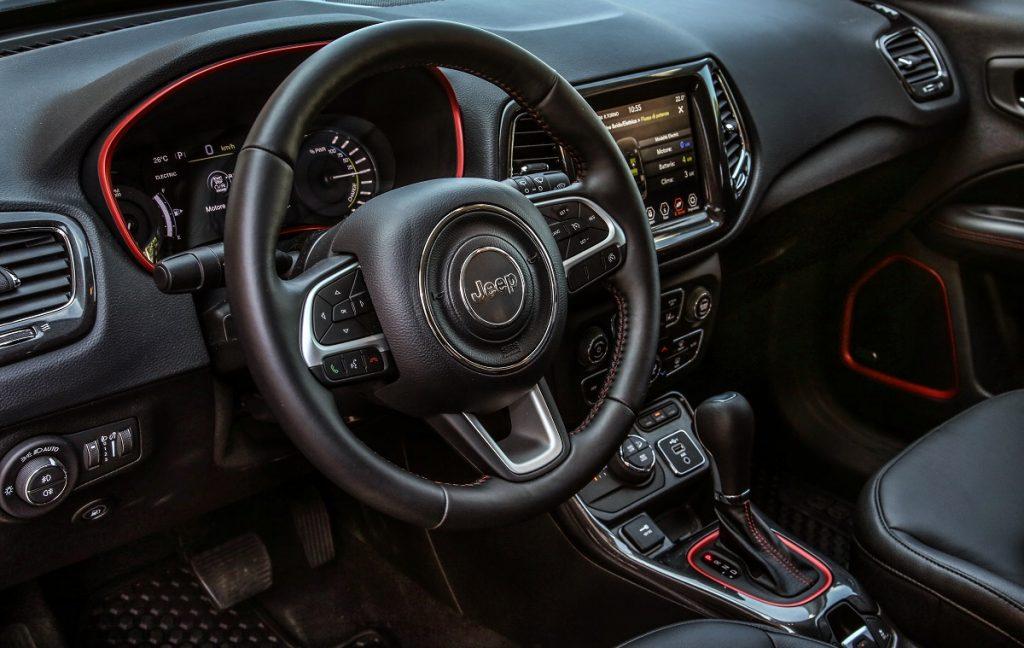 IMagen interior del Jeep Compass 4xe