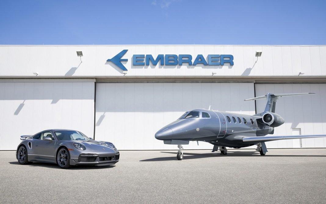 Imagen de la serie limitada de Porsche y Embraer