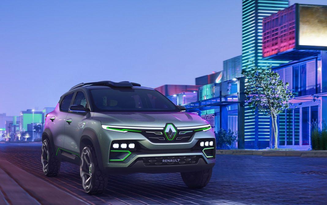 Imagen frontal del Renault Kiger