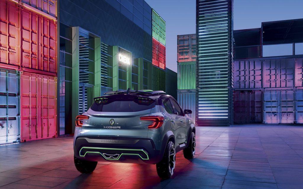 Imagen posterior del Renault Kiger
