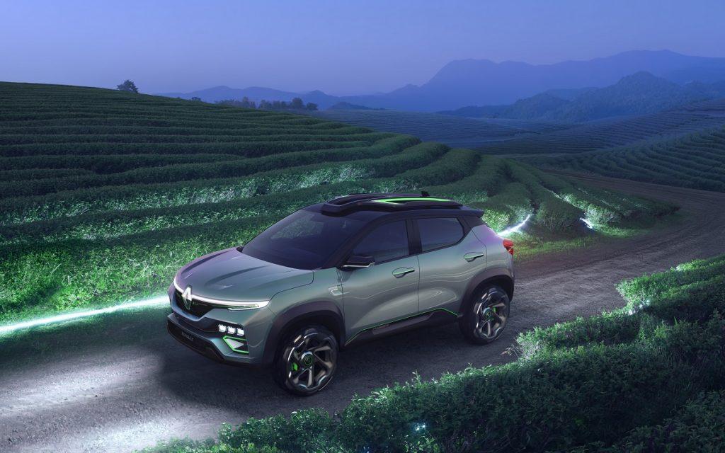 El Renault Kiger en la naturaleza