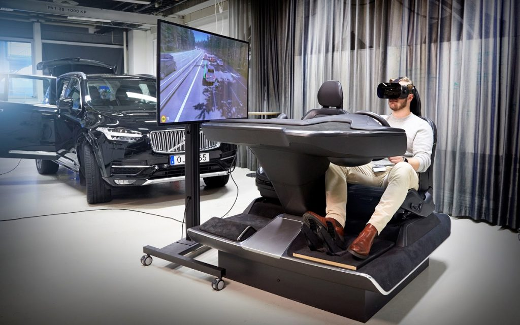 Plano general del Simulador de Volvo
