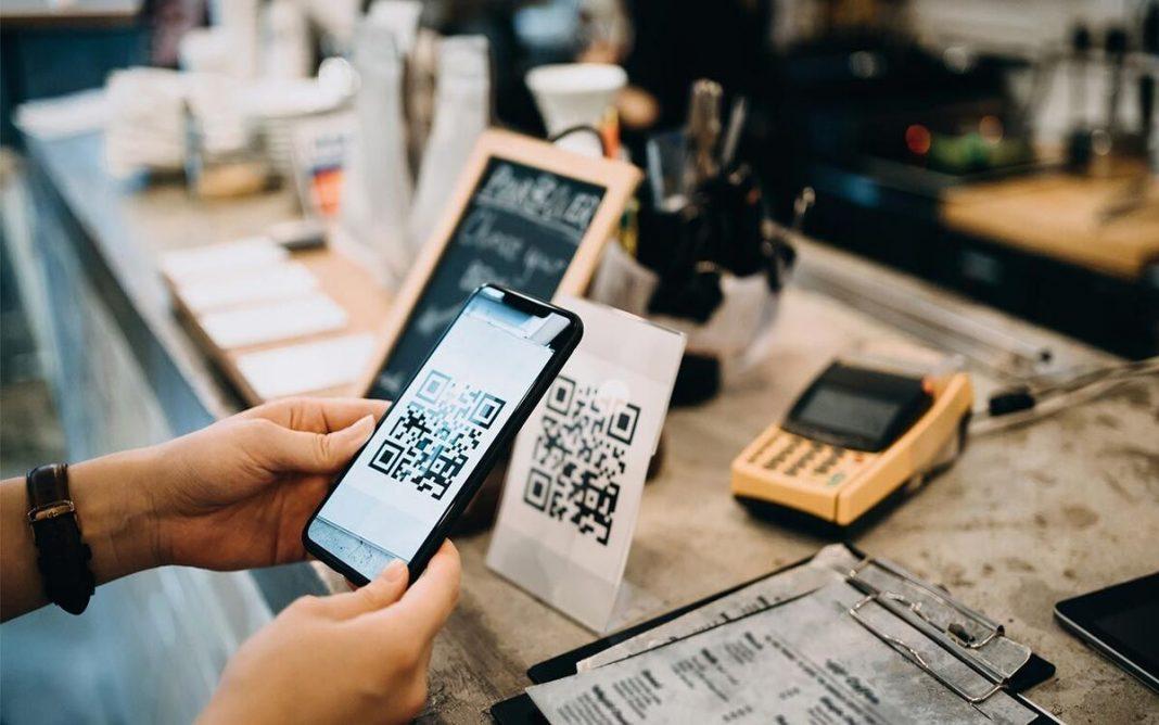 Transacción con código QR