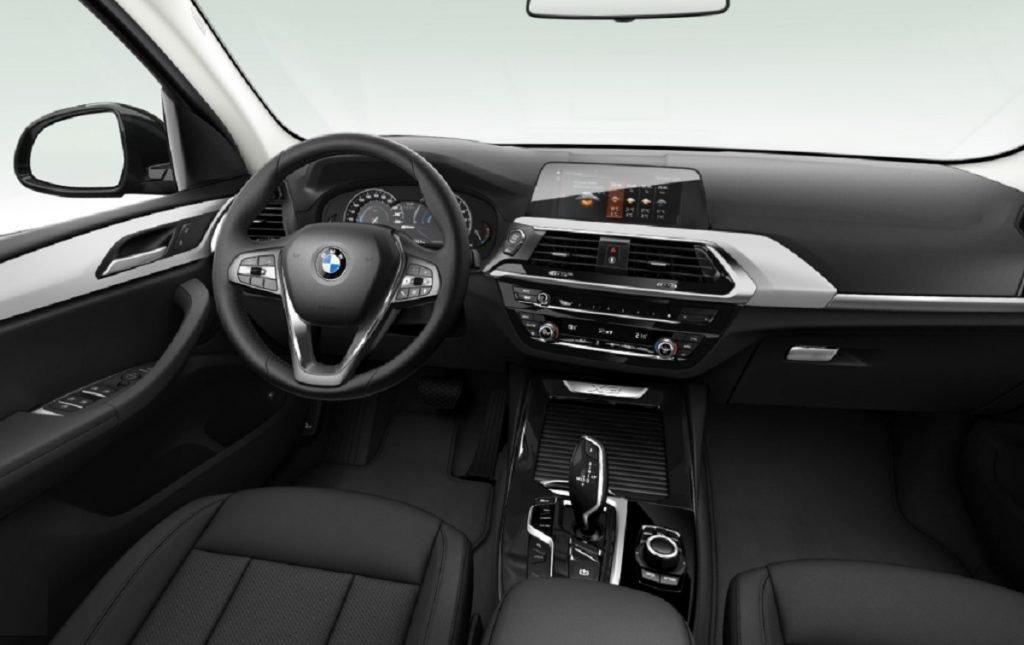 Imagen interior del BMW X3 híbrido enchufable