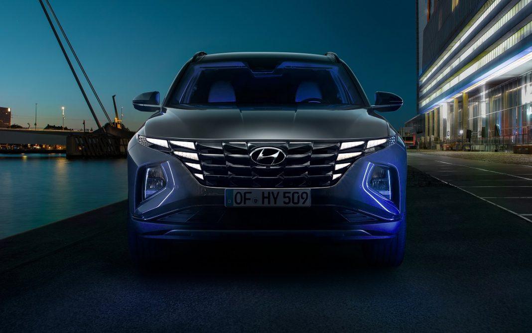 Imagen de frontal del nuevo Hyundai Tucson 2021
