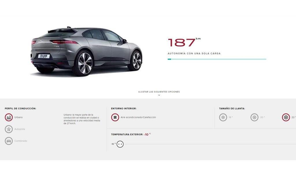 autonomía Jaguar i-Pace