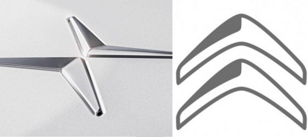Imegen de los logos de Polestar y de Citroën