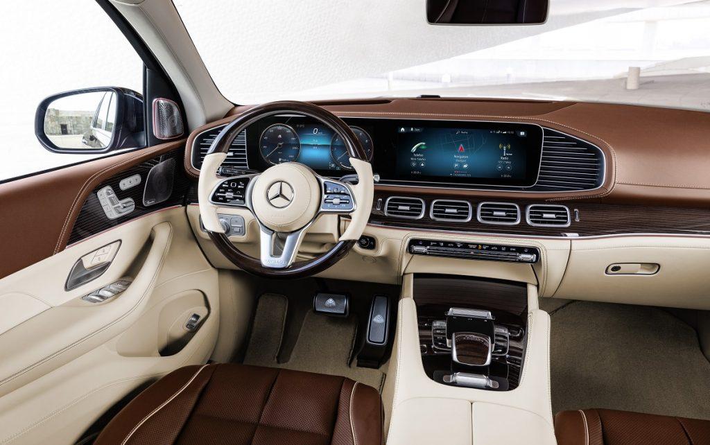 Mercedes-Maybach GLS 600 4MATICMercedes-Maybach GLS 600 4MATIC por dentro