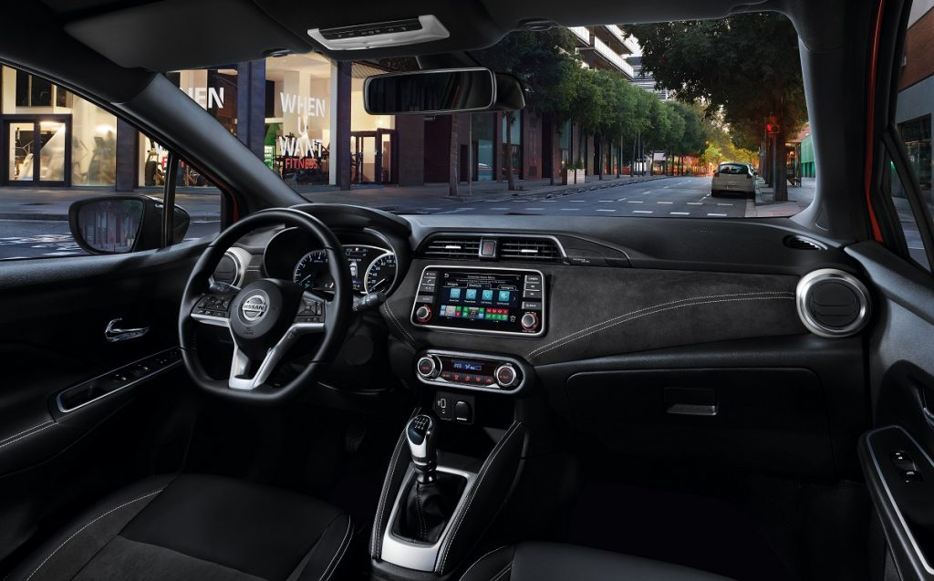 Imagen interior Nissan Micra