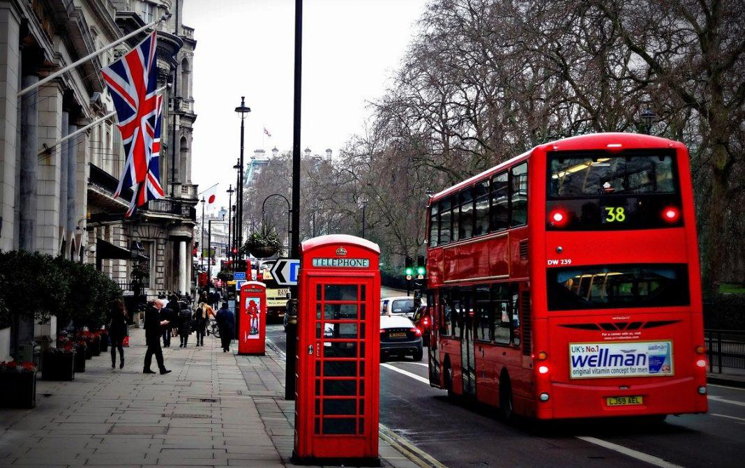 Imagen de una calle de Londres