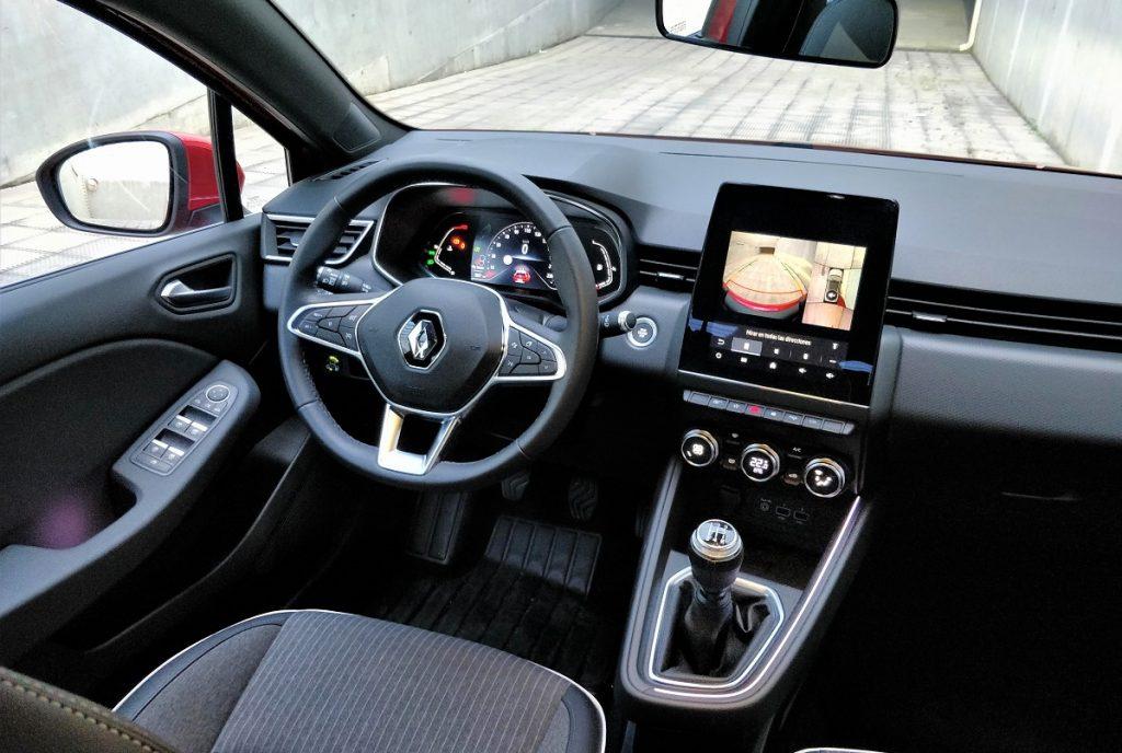 imagen interior Renault Clio GLP