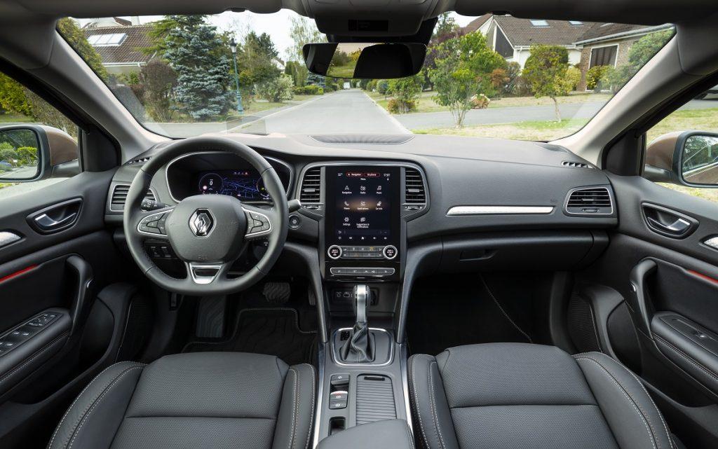 Imagen interior del Renault Mégane