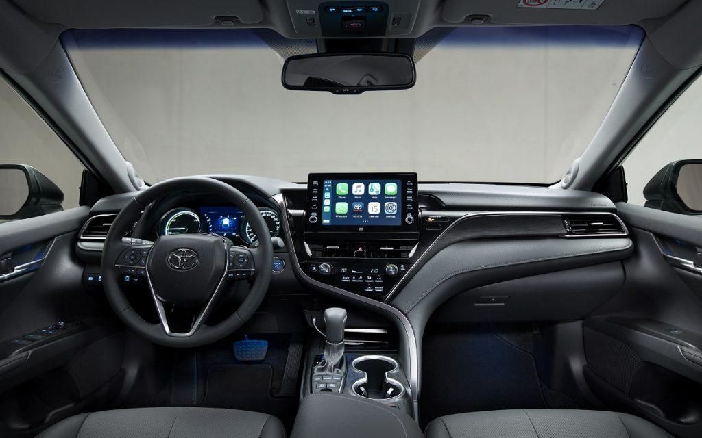 Imagen interior de un Toyota Camry