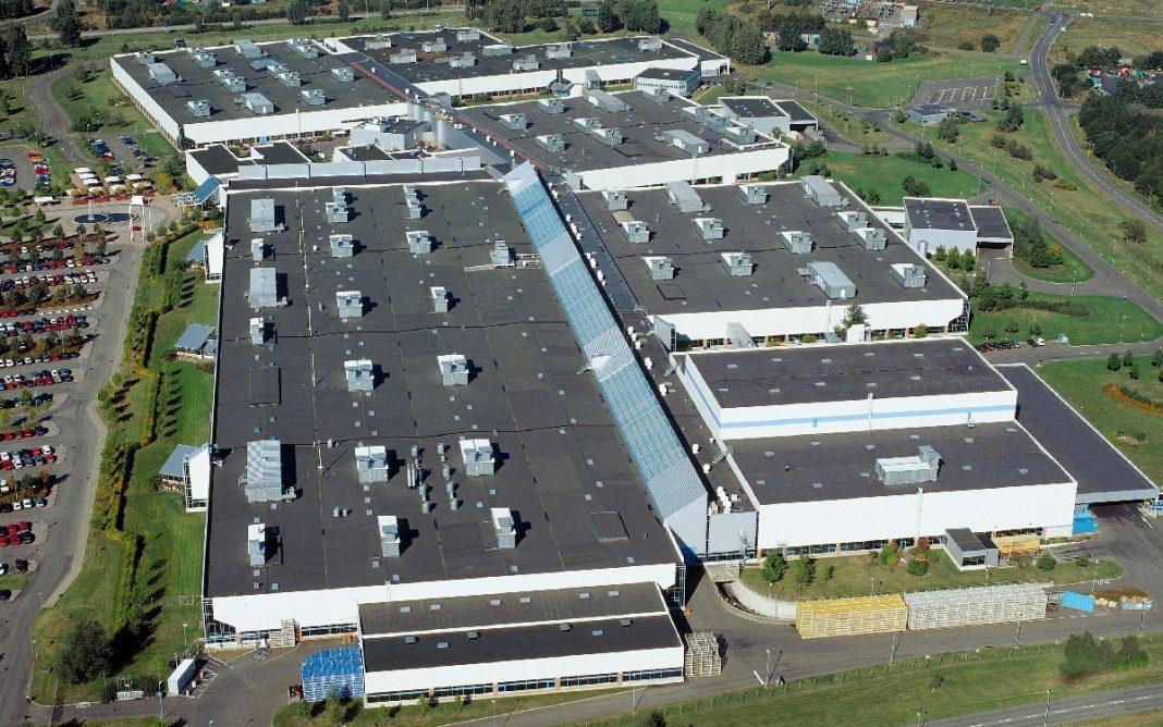 Imagen de la Fábrica Volvo de Skovde