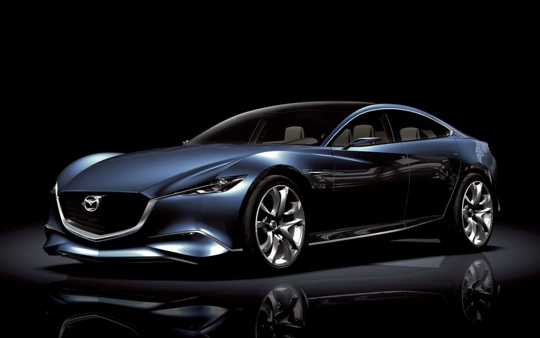 Imagen del concept Mazda Shinari