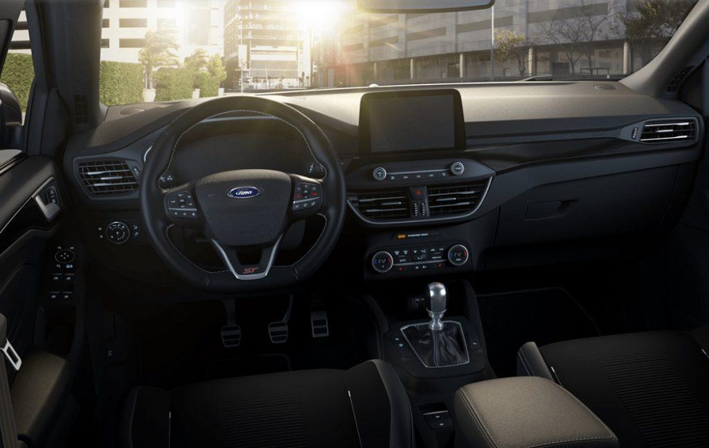 Imagen interior de un Ford Focus ST