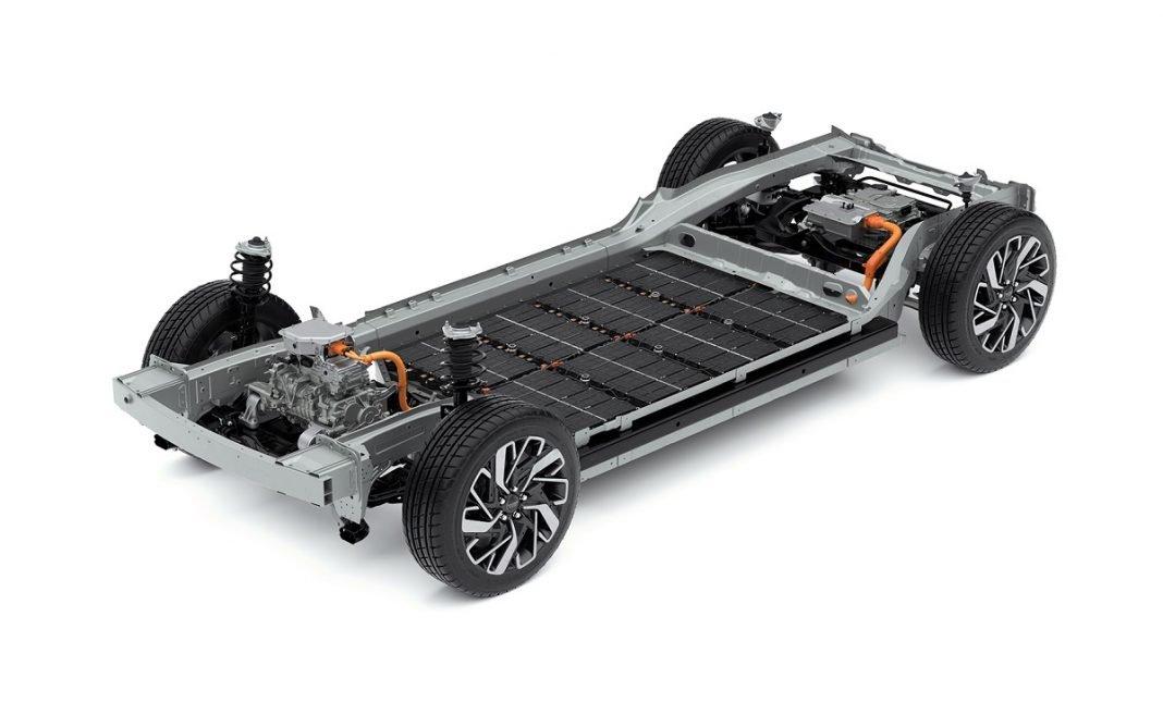 IMagen de la nueva plataforma eléctrica para vehículos de Hyundai