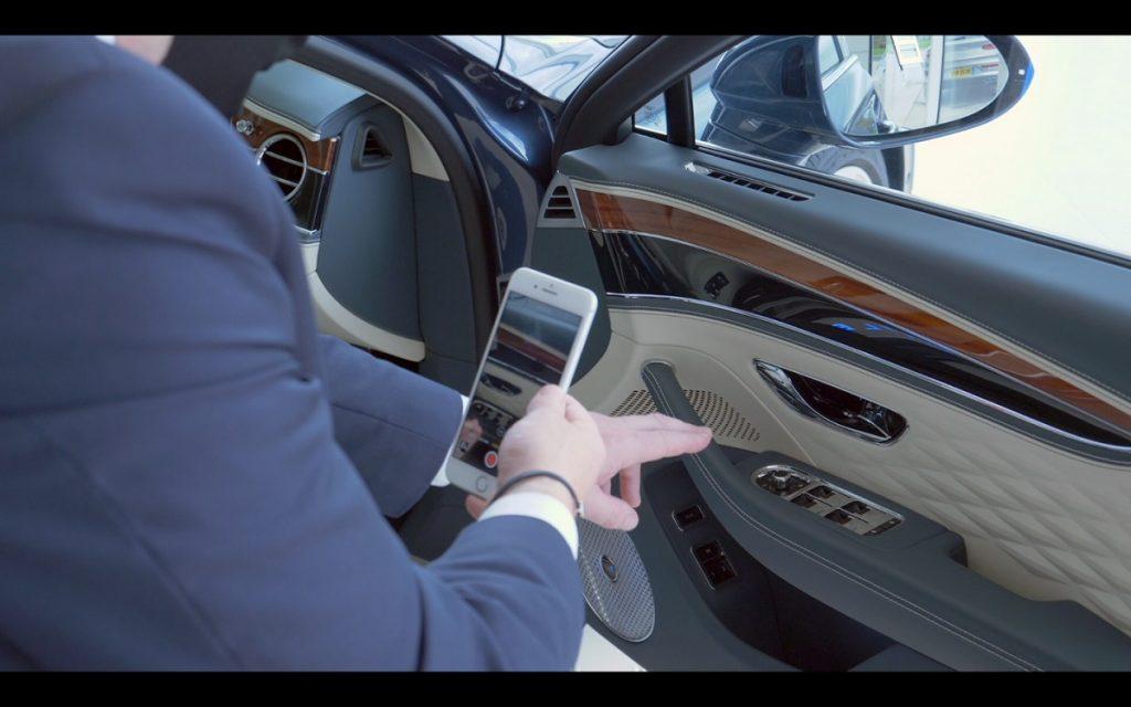 Comercial de Bentley en la Bentley Commissioning Experience
