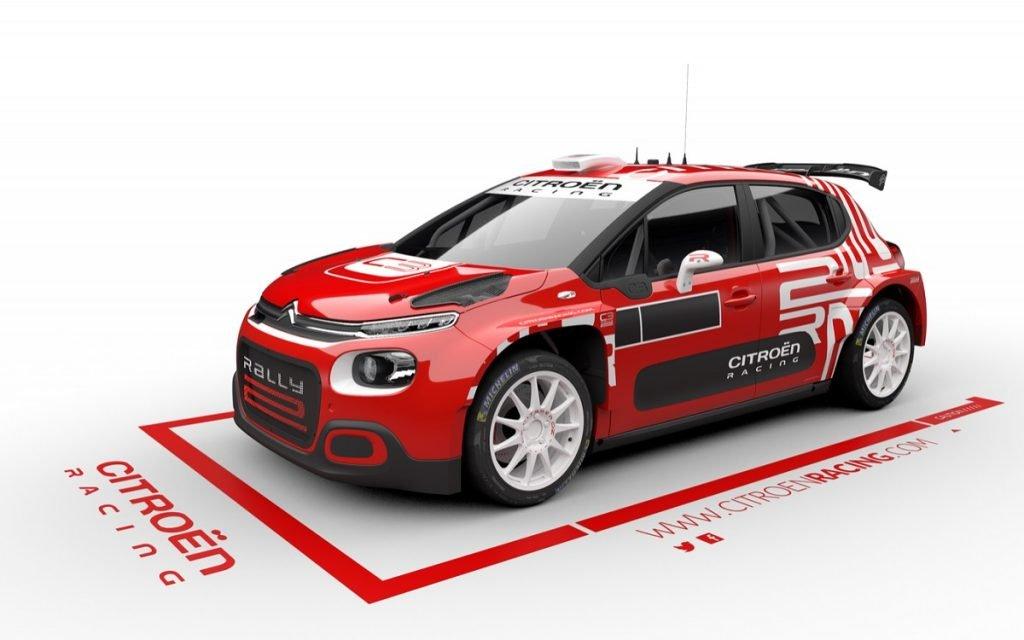 Boceto del Citroën C3 Rally2