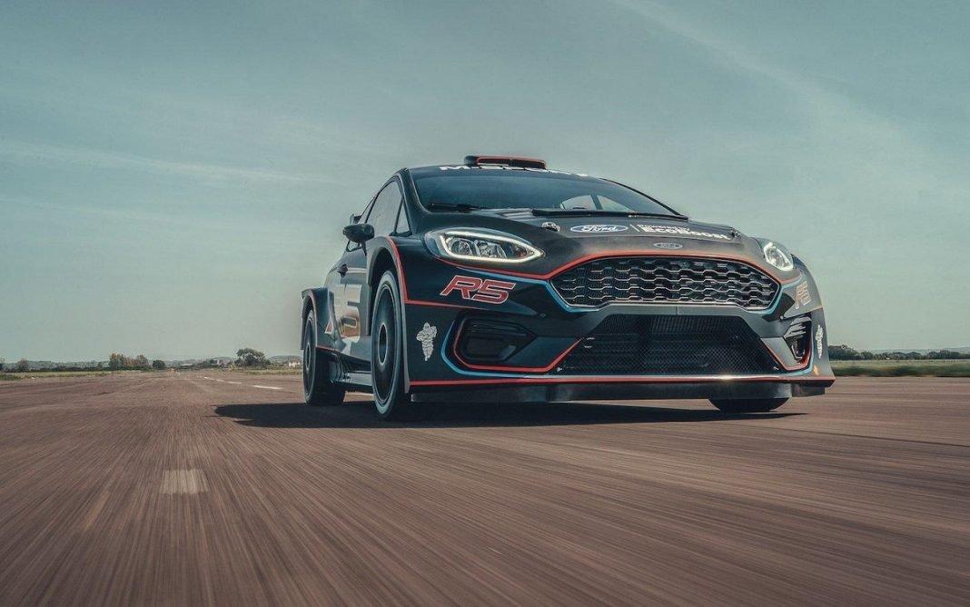 Imagen de un Ford Fiesta Rally2