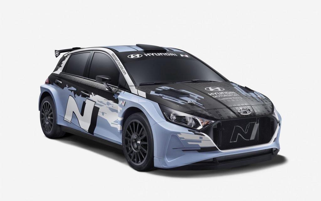 Imagen del Hyundai i20 N Rally2