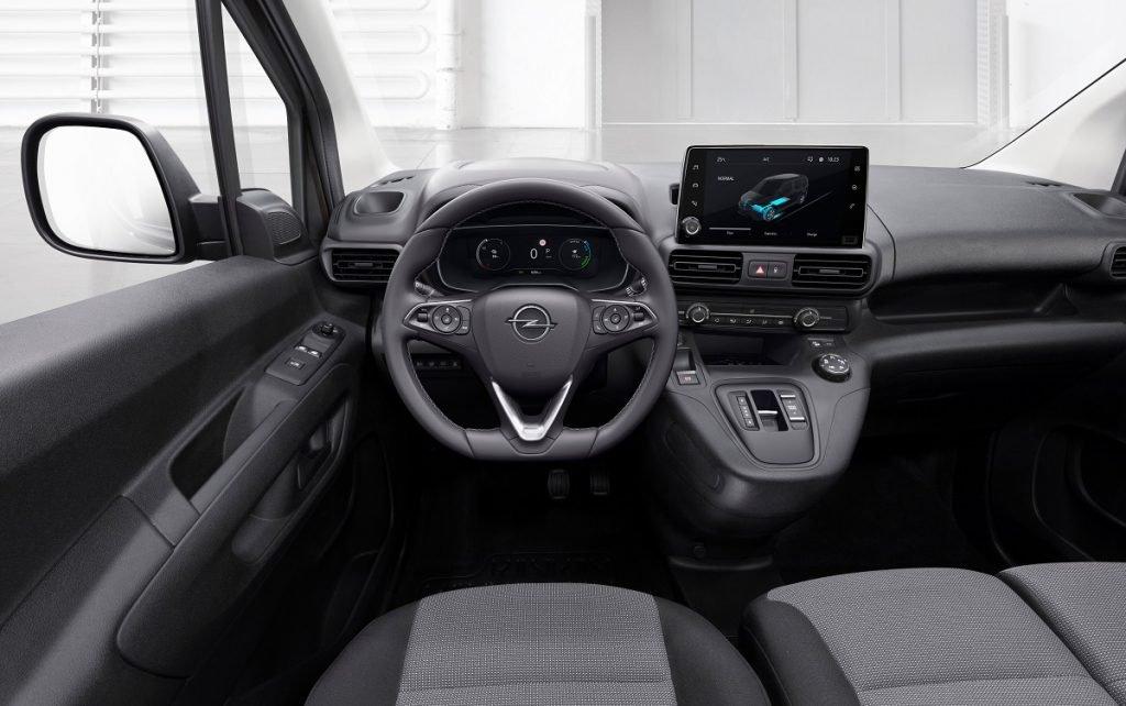 Imagen interior del Opel Combo-e Cargo