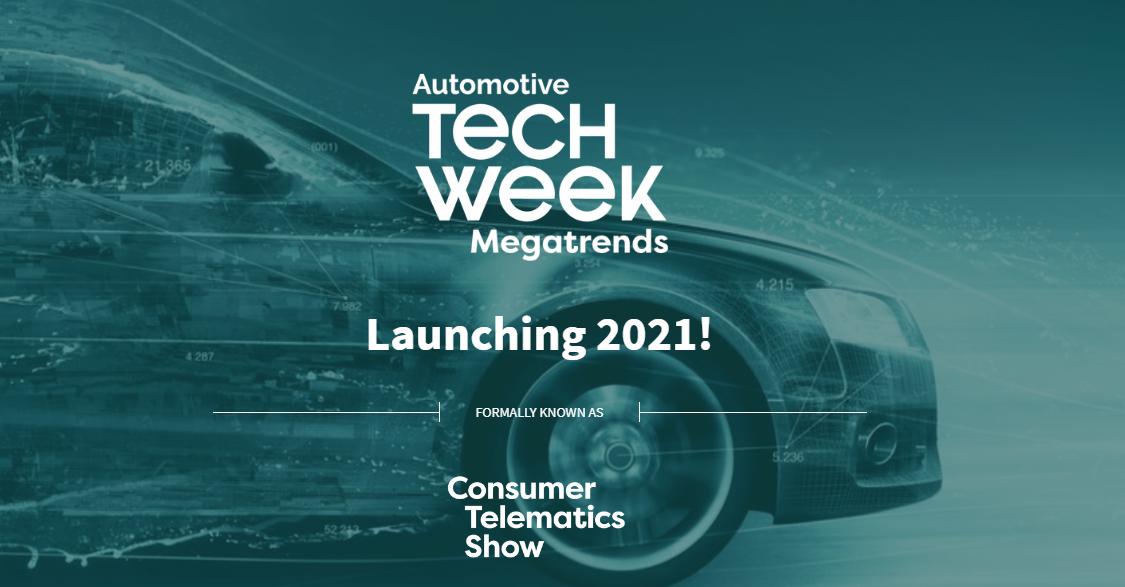 Cartel del evento Automotive Tech Week