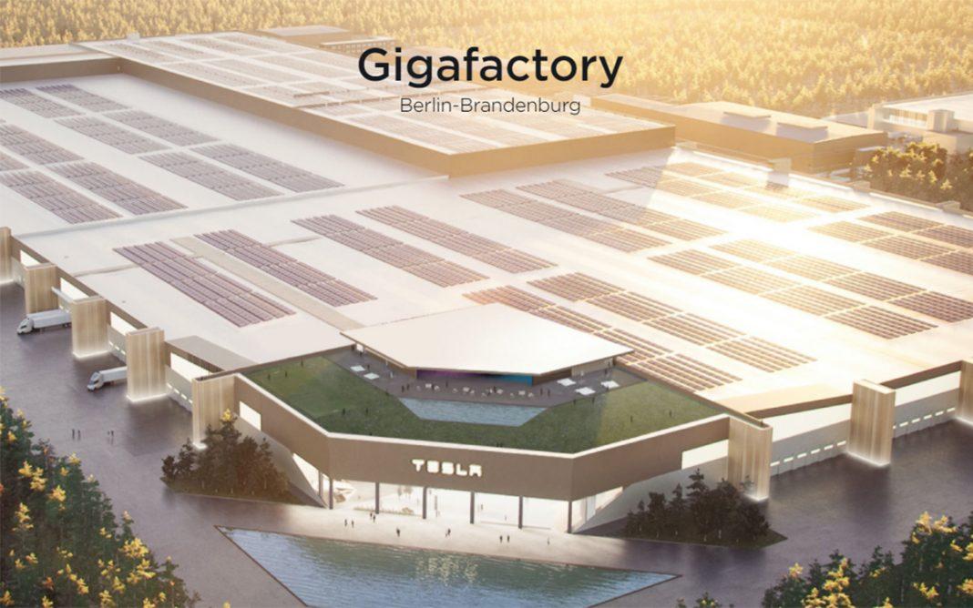 Gigafactoría Tesla Berlín Alemania panorámica