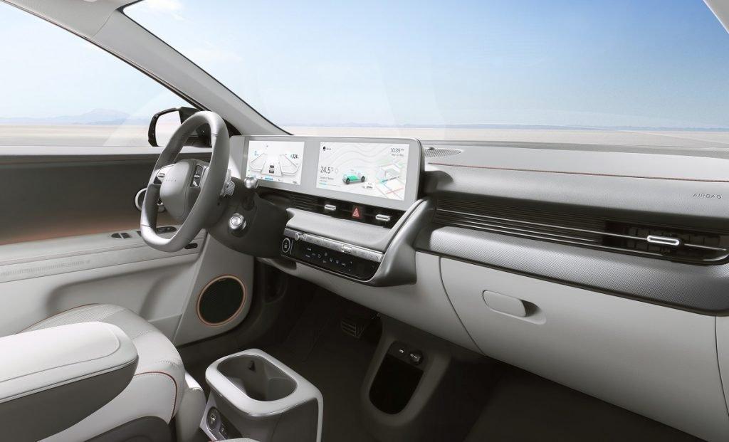 Imagen interior del Ioniq 5
