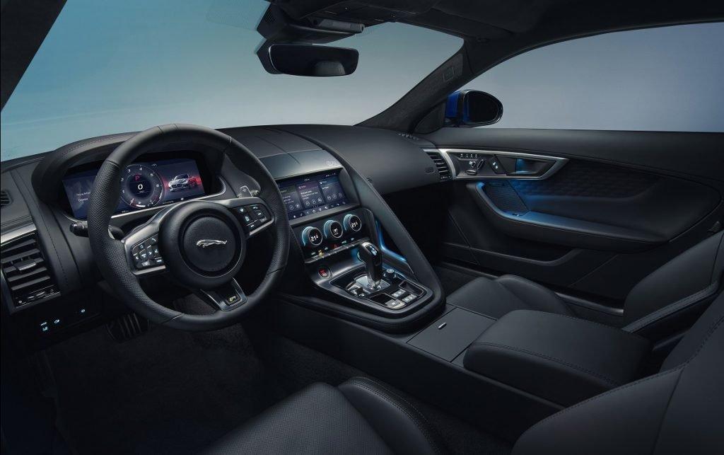 Imagen interior Jaguar F-Type