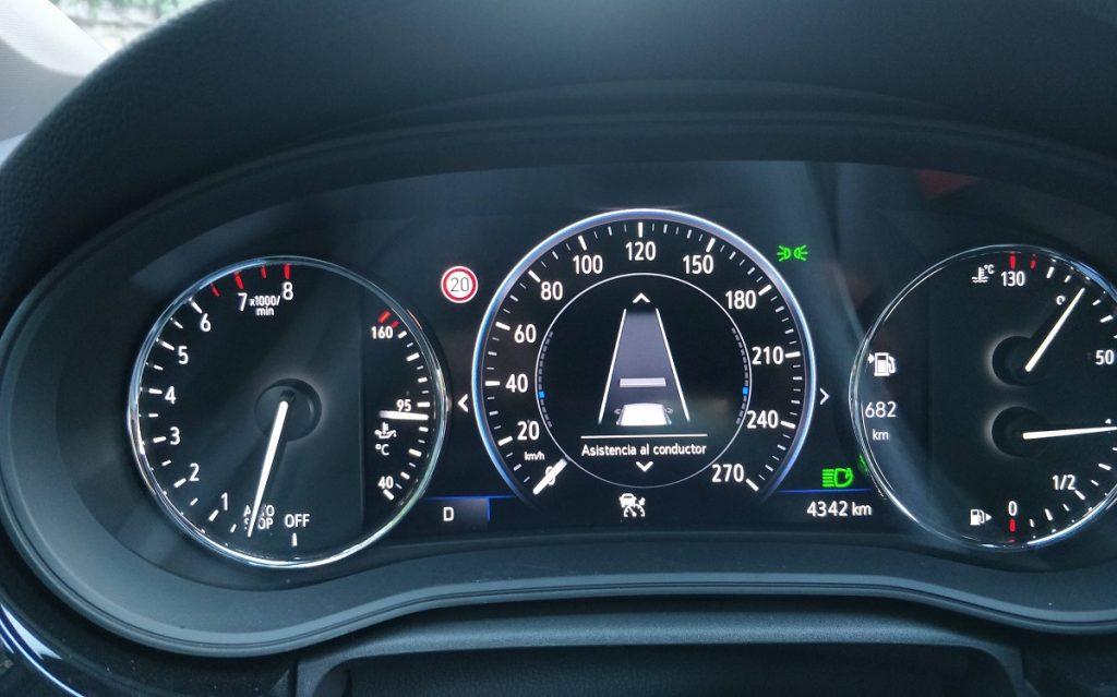 Cuadro de mandos de Opel Astra