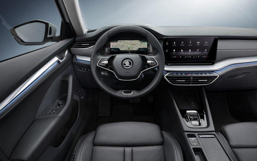 Imagen interior de un Skoda Octavia iV