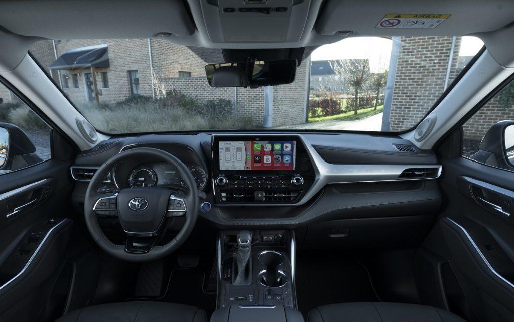 Imagen  interior del Toyota Highlander