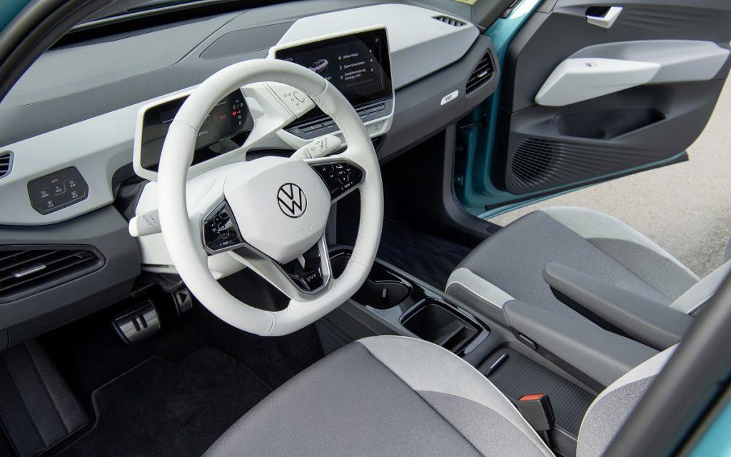 Imagen interior del Volkswagen ID.3