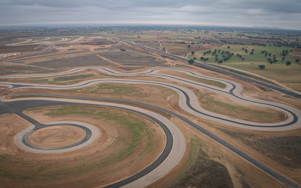 Imagen aérea del Centro Nokian en España